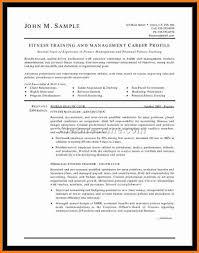 Sample Personal Trainer Resume by 5 John David Alonzo Cv Ledger Paper