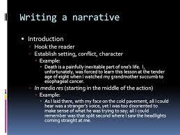 English    Mr  Schellenberg  What is a narrative essay      An     SlidePlayer