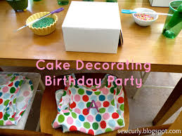 Home Interiors Party Catalog Kate U0027s Cake Decorating Party Thriving Parents