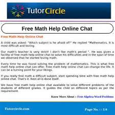 Homework Help Online Chat homework help online chat