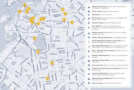 Brooklyn New York Map by Take A Hip Hop Tour Of Brooklyn With Fuse U0027s Bk Rap Map Fuse