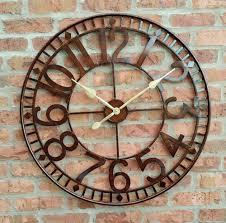 clock good big clock ideas large wall clocks wall clocks living