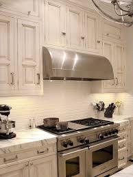 Cream Subway Tile Backsplash by 35 Beautiful Kitchen Backsplash Ideas Hative