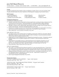 Profile Section Of Resume Examples by Marvellous Design Example Skills Section Resume How To Write A