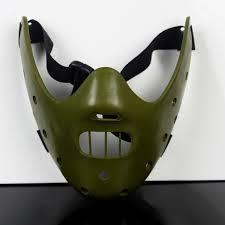 Hannibal Halloween Costume Aliexpress Buy Silence Lambs Mask Steel Teeth