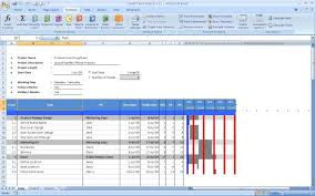Xls Spreadsheet Download Excel Gantt Chart Template Xls And Yearly Gantt Chart Excel