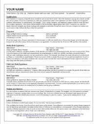 Qualifications Summary Resume Example by 100 Original Resume Template Qualifications