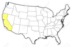 States Of United States Map by United States California Map California Map