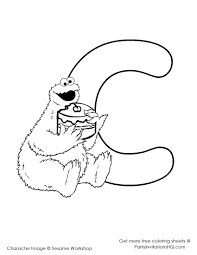 download coloring pages cookie monster coloring page cookie