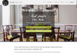 Interior Designer Website by Web Design Portfolio Curio Electro Nj