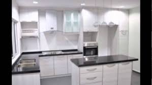 Handleless Kitchen Cabinets White Kitchen Cabinets Without Handles Youtube