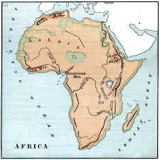 Physical Map Of Africa by 4684 Jpg
