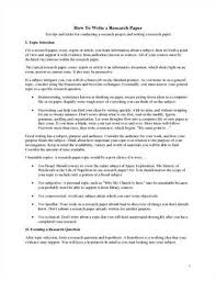 Sections To Include Within A History Term Paper