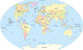 Colored World Map by File World Administrative Divisions De Colored All Countries