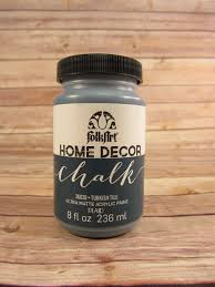 folk art home decor chalk paint favecrafts com