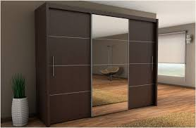 Home Decor Sliding Wardrobe Doors Inova Sliding Door Wardrobe Wenge Dark Brown 250cm By Furniture