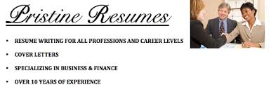 Pristine Resumes   Resume Writing Services by Certified