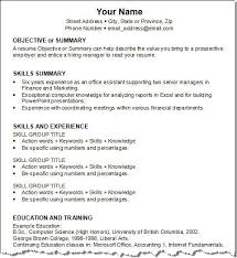 Examples Of Good Resumes That Get Jobs   Financial Samurai   examples of a professional resume