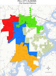Us Circuit Court Map City Council City Of Pell City Alabama