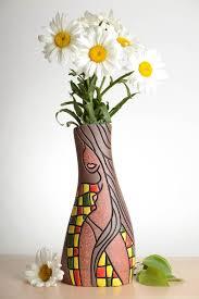 clay flower vase decoration class u003d vase pinterest flower
