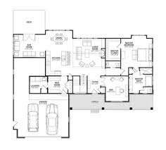 Ranch Style House Plans With Basement by Ranch Style House Plan 3 Beds 2 Baths 1457 Sq Ft Plan 56 620