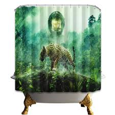 curtains home decor cheetah shower curtain home design ideas and pictures