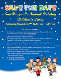 children u0027s christmas party sign up forms