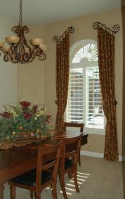 Tuscan Style Kitchen Curtains by Tuscan Country Window Treatments Dining Rooms Old West