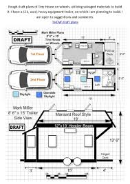 Big House Plans by Top 20 Cabin On Wheels Plans Tiny House Favs On Pinterest