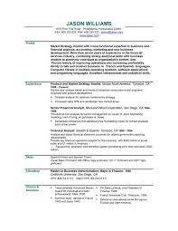 Sample Resume For High School Student With No Experience  high