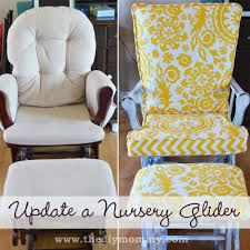 Rocking Recliner Nursery How To Insert A Zipper Glider Rocking Chair Rocking Chairs And