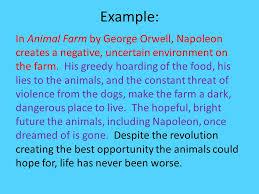 essay on animal farm by george orwell