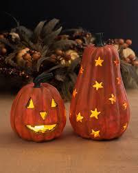 halloween pathway lights led carved halloween pumpkins balsam hill