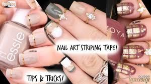 tip u0026 tricks nail art tape diy cute u0026 easy nail art designs for