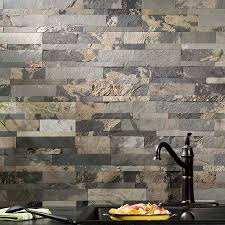 Peel And Stick Stone Tile Backsplash Interior Design Ideas - Peel on backsplash
