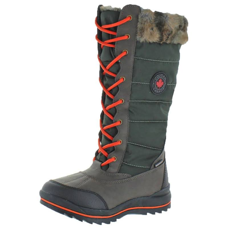 Cougar Chateau Snow Waterproof Winter Boots Green 6 Medium (B,M)