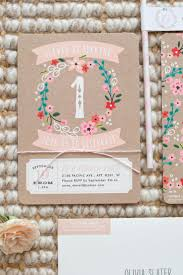 1st Year Baby Birthday Invitation Cards Best 25 First Birthday Invitations Ideas On Pinterest