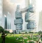 asymptote architecture: velo towers YIBD