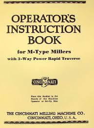 cincinnati m type miller 1m u0026 2m horizontal milling machines