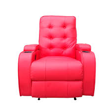 chic red leather chair furniture design recliner furniture 143