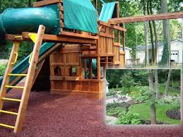 backyard playground surface ideas home outdoor decoration