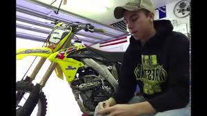 how to change the oil on a rmz 450 2013 pt 1 youtube