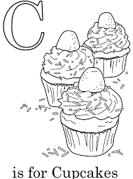 alphabet c coloring page coloring pages alphabet c words