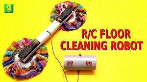 Cleaning Robot by How To Make A Remote Controlled Floor Cleaning Robot At Home Youtube