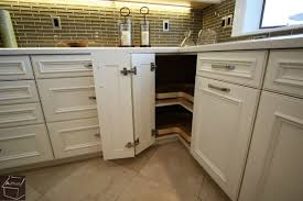 What Are My Storage Options In Corner Base Cabinets When Designing - Corner kitchen base cabinet