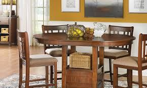 mission counter height dining set haynes furniture virginia u0027s