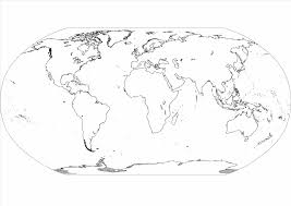Printable Map Of The United States Blank Map Coloring Pages Map Of The World Coloring Page Free