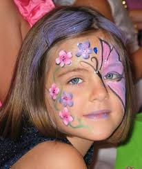 Butterfly Face Painting Photo Gallery