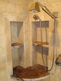 nice shower bathroom design with nice traditional tile designs