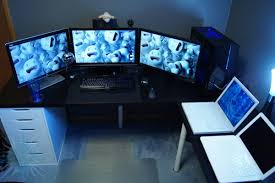 Gaming Corner Desk by Playroom Cool Computer Desks For Your Gaming Room Decor